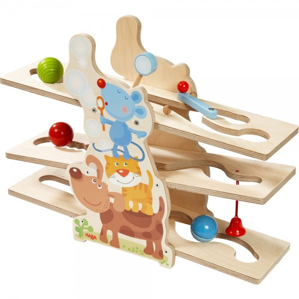 Haba Kugelbahn Klick-Klack Tierfreunde Spielzeug