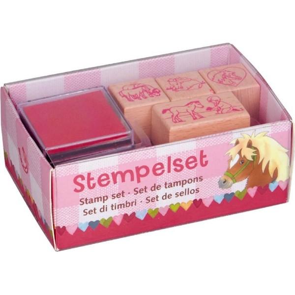Die Spiegelburg Stempelset Mein kleiner Ponyhof Spielzeug