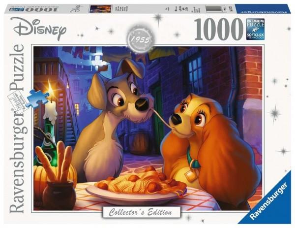 Ravensburger Spieleverlag Disney Susi und Strolch Puzzle 1000 Teile Spielzeug