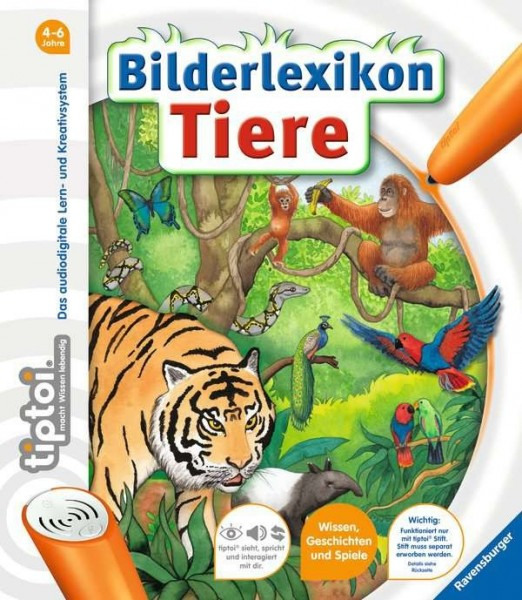 Ravensburger tiptoi® Bilderlexikon Tiere Spielzeug
