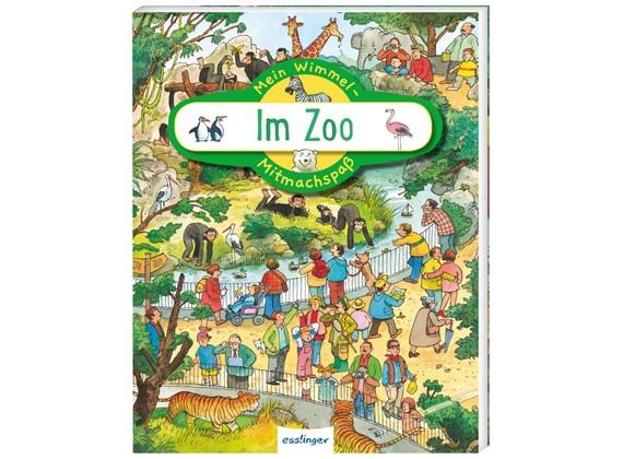 Thienemann-Esslinger Verlag Mein Wimmel-Mitmachspaß Im Zoo Spielzeug