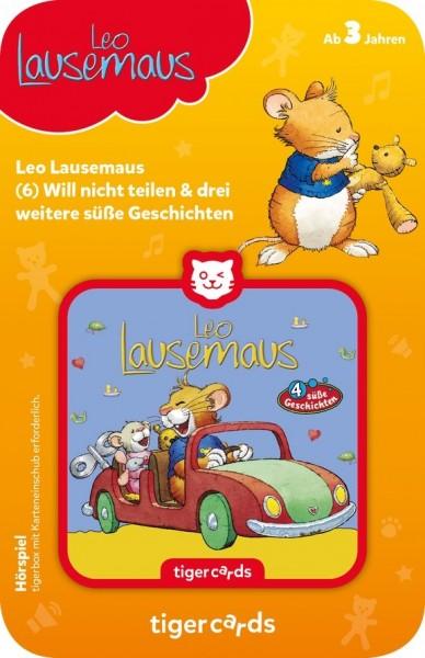 Tigermedia tigercard - Leo Lausemaus - Folge 6: Will nicht teilen und 3 weitere süße Geschichten Spielzeug