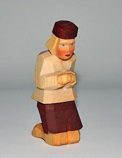 Lotte Sievers-Hahn Hirte, kniend Spielzeug
