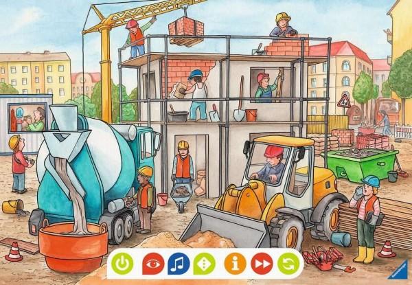 Ravensburger tiptoi® Puzzle für kleine Entdecker 2x12 Teile Spielzeug