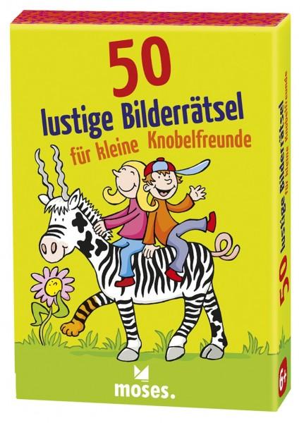 Moses 50 lustige Bilderraetsel für kleine Knobelfreunde Spielzeug