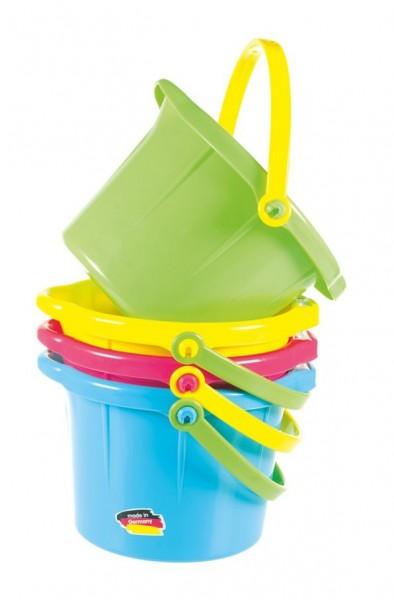 Spielstabil Sandspielzeug Sandeimer klein farbig Spielzeug