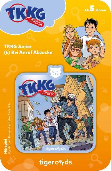 Tigermedia tigercard - TKKG Junior - Folge 6: Bei Anruf Abzocke Spielzeug