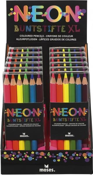 Moses Neon-Buntstifte XL Spielzeug