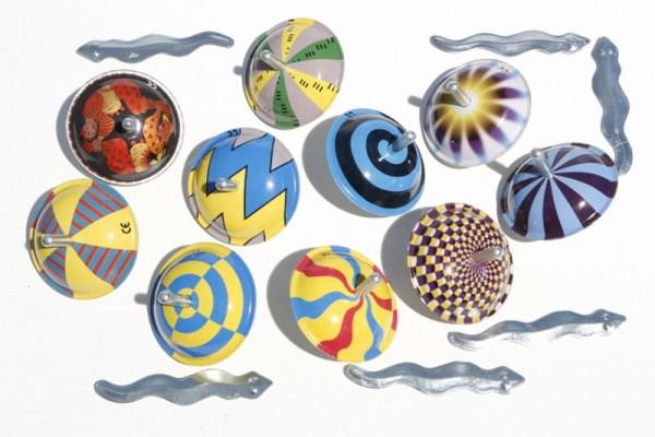 die Blechfabrik Bibo magischer Kreisel Spielzeug