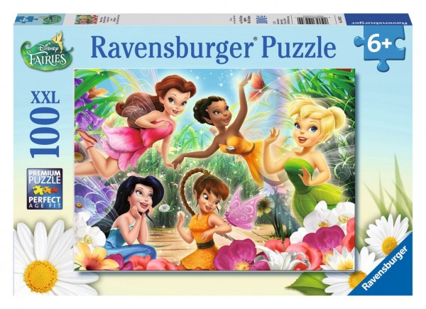 Ravensburger Spieleverlag Kinderpuzzle - Fairies, Meine Fairies 100 Teile Spielzeug