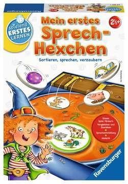 Ravensburger Spiele Mein erstes Sprech-Hexchen ? das Sprachspiel für Kinder ab 2,5 Jahren Spielzeug