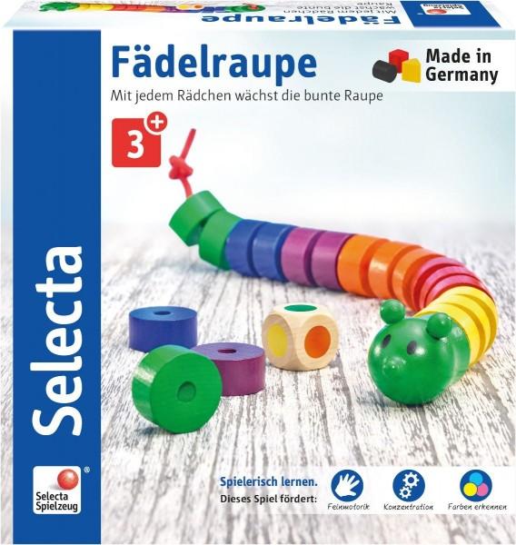Selecta Fädelraupe Spielzeug
