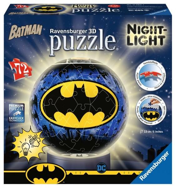 Ravensburger Batman Nightlight 3D Puzzle 72 Teile Spielzeug