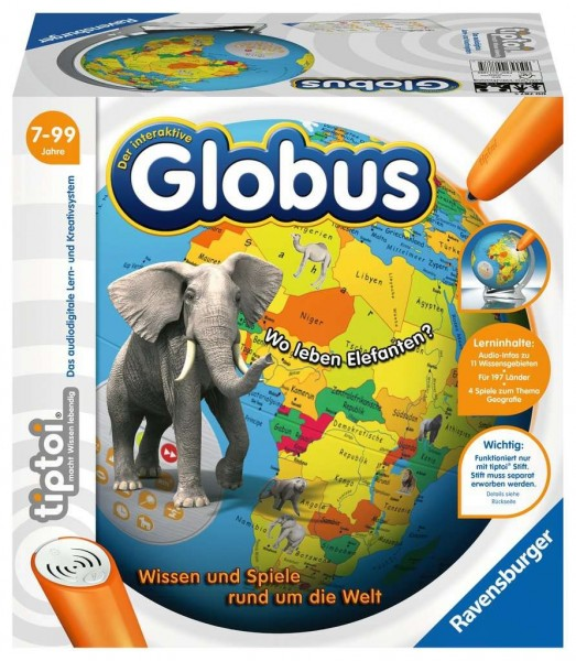 Ravensburger tiptoi® Der interaktive Globus Spielzeug
