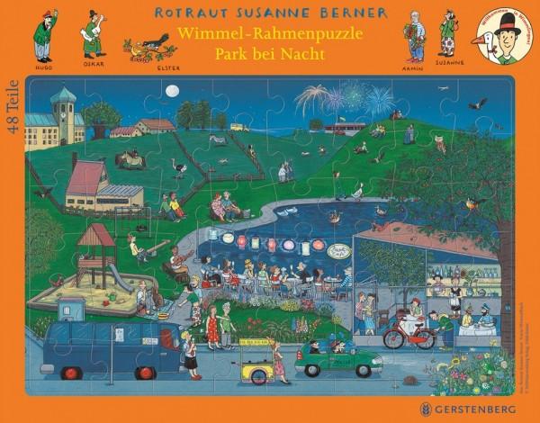 Gerstenberg Wimmelrahmenpuzzle Nacht 48 Teile Spielzeug