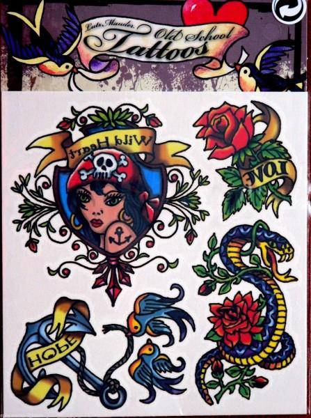 Mauder Lutz Verlag Old School Tattoo Wild Heart Spielzeug