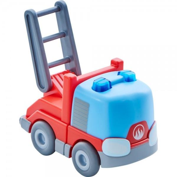 Haba Kullerbü Kugelbahn Feuerwehr-Leiterwagen Spielzeug