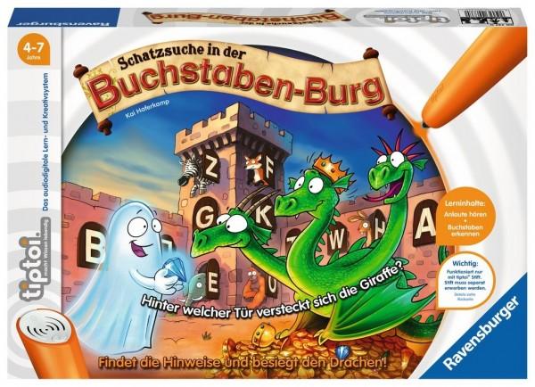 Ravensburger tiptoi® Schatzsuche in der Buchstabenburg Spielzeug