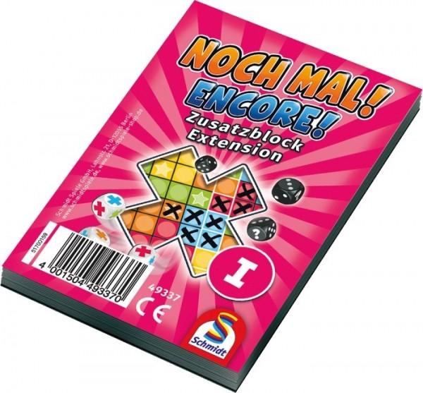 Schmidt Spiele Noch Mal! Zusatzblock Spielzeug