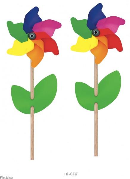 Aurich Windrad Regenbogen,Blatt,mini Spielzeug