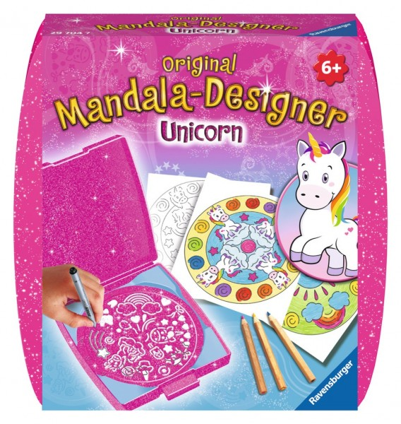 Ravensburger Spiele Mini Unicorn Mandala-Designer Spielzeug