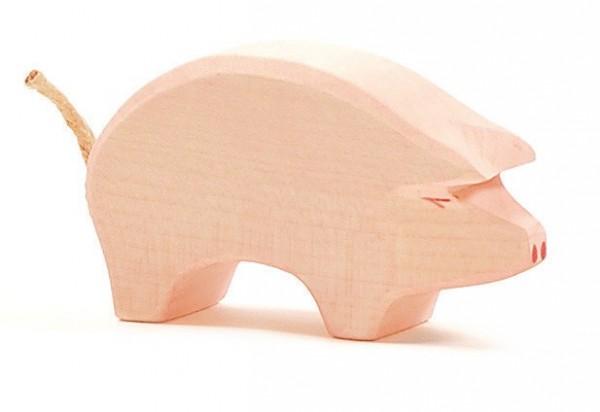 Ostheimer Figur Schwein Rüssel tief Spielzeug