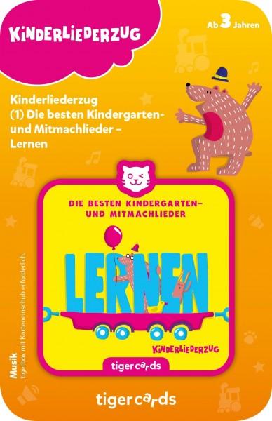 Tigermedia tigercard - Kinderliederzug - Folge 1: Die besten Kindergarten- und Mitmachlieder - Lernen Spielzeug