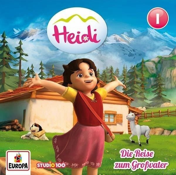 BUSCH CD Heidi CGI 1: Die Reise zum Großvater Spielzeug