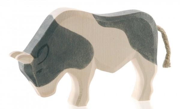 Ostheimer Figur Stier schwarz Spielzeug