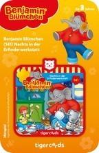 Tigermedia tigercard - Benjamin Blümchen - Folge 141: Nachts in der Erfinderwerkstatt Spielzeug