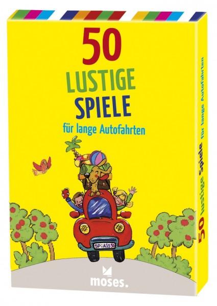 Moses 50 lustige Spiele/Autofahrten Spielzeug