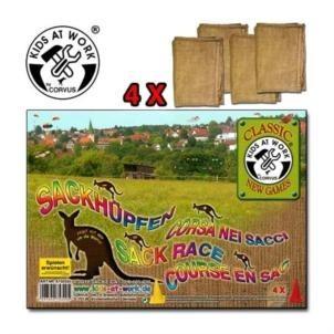 Corvus Sackhüpfen 4 Säcke Spielzeug