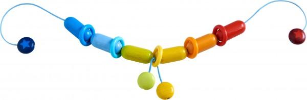 Haba Kinderwagenkette Farbenfroh Spielzeug