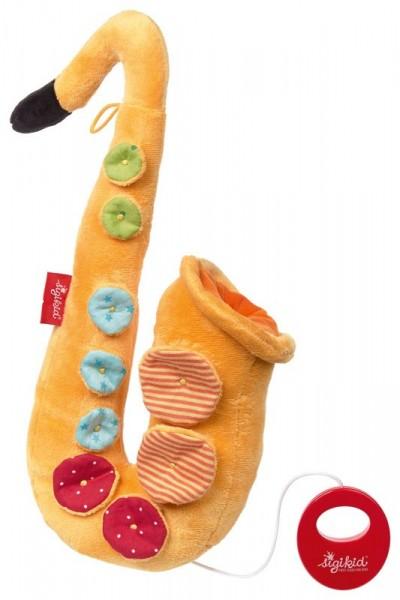 Sigikid Spieluhr Saxophon Spielzeug