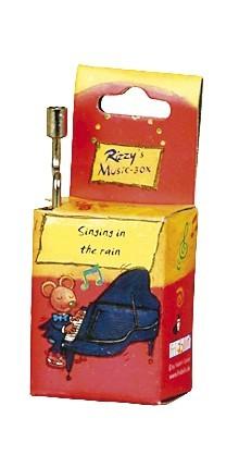 """Fridolin Rizzy Spieluhr """"Singin`in the Rain"""" Spielzeug"""