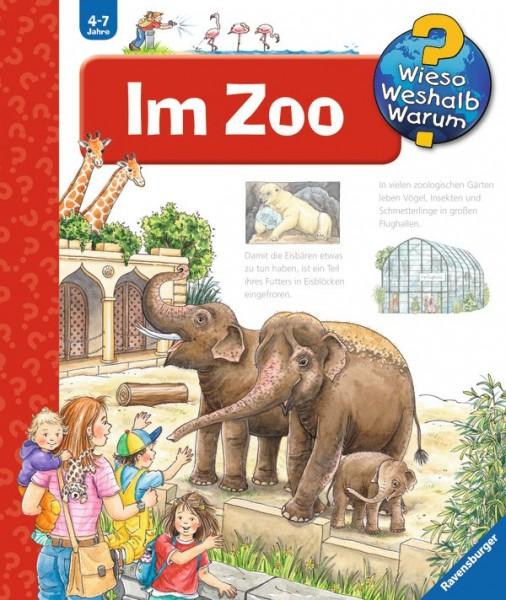 Ravensburger Buch WWW45 Im Zoo Spielzeug