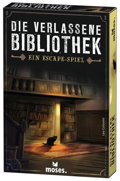 Moses Die verlassene Bibliothek - Escape-Spiel Spielzeug
