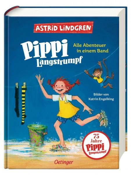 Oetinger Verlag Pippi Langstrumpf Alle Abenteuer in einem Band Spielzeug