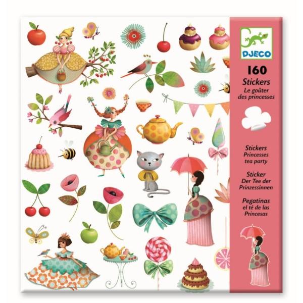 DJECO Sticker: Teeparty der Prinzessin Spielzeug
