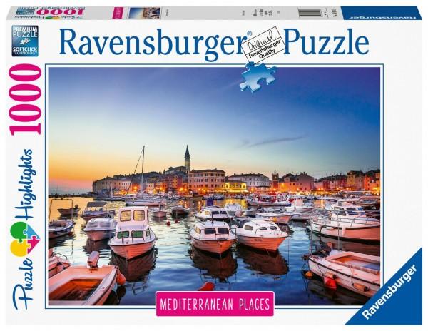Ravensburger Puzzle Mediterranean Croatia 1000 Teile Spielzeug