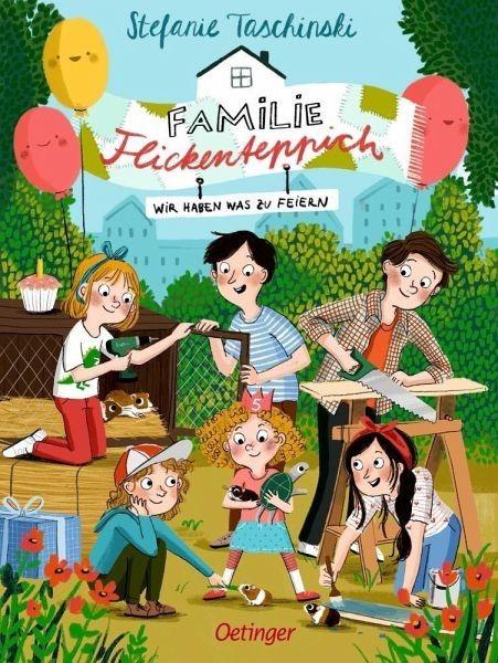 Oetinger Verlag Wir haben was zu feiern / Familie Flickenteppich Bd.2 Spielzeug
