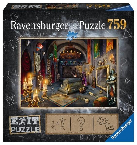Ravensburger Spieleverlag Puzzle - EXIT Im Vampirschloss - 759 Teile Spielzeug