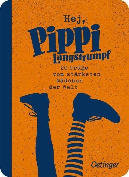 Oetinger Verlag Hej, Pippi Langstrumpf! 20 Grüße vom stärksten Mädchen der Welt Spielzeug