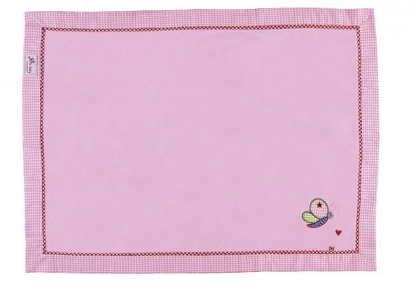 Die Spiegelburg Kuscheldecke Baby Glück, rosa Spielzeug