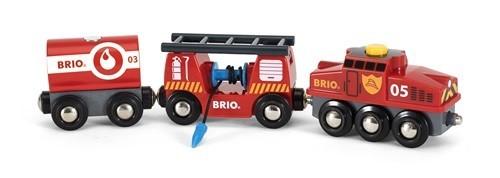Brio Feuerwehr-Löschzug Spielzeug