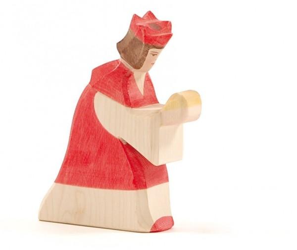 Ostheimer Figur König rot Spielzeug