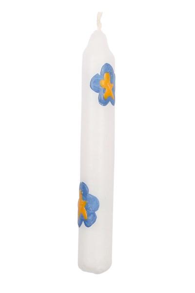 ahrens Kerze Sommerblumen/weiß Spielzeug