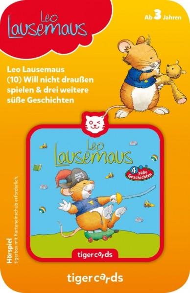 Tigermedia tigercard - Leo Lausemaus - Folge 10: Will nicht draußen spielen und 3 weitere süße Geschichten Spielzeug