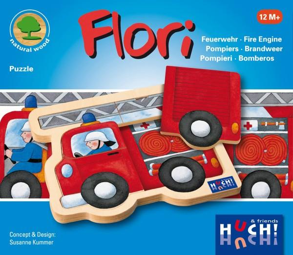 Hutter Flori Puzzle Feuerwehr Spielzeug