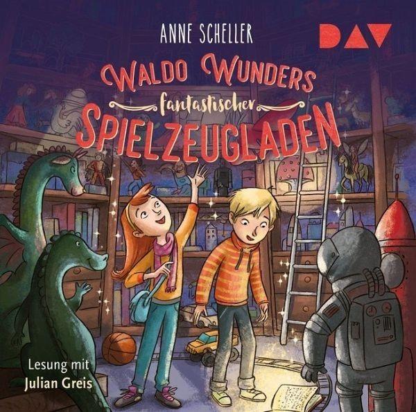 dtv Waldo Wunders fantastischer Spielzeugladen: Lesung mit Julian Greis (2 CDs) Spielzeug